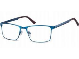 Oprawki okulary stalowe męskie korekcyjne zerówki