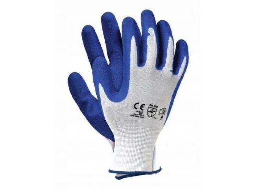 Rękawice robocze rtela rwnyl blue drago 8/m