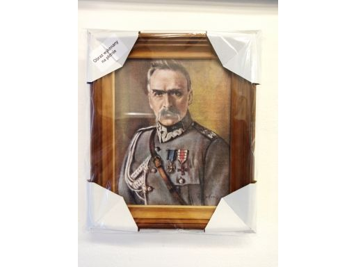Portret józef piłsudski unikat płótno