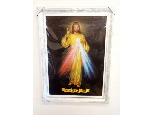 Obraz jezu ufam tobie grawer gratis