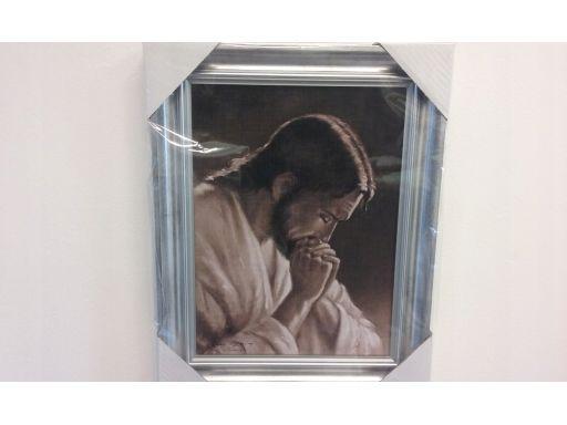 Obraz chrystus modlący frasobliwy