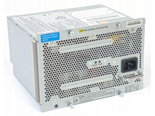 Hp procurve 875w power supply for zl series j8712a