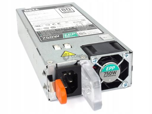Dell 750w 80+ platinum power supply for r630 8h33m