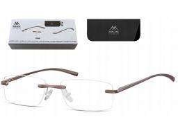 Bezramkowe okulary korekcyjne do czytania plusy