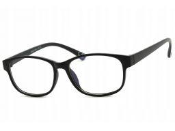 Okulary antyrefleks zerówki a'la nerdy owalne