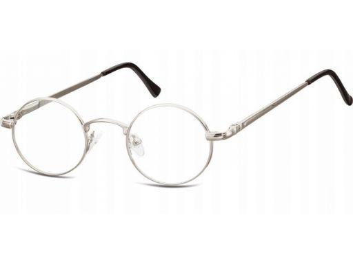 Okulary lenonki dziecięce zerówki unisex
