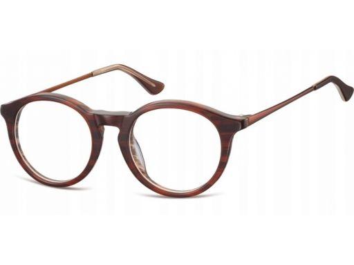 Okrągłe lenonki okulary oprawki damskie męskie mix