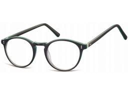 Zerówki okulary oprawki lenonki okrągłe korekcyjne