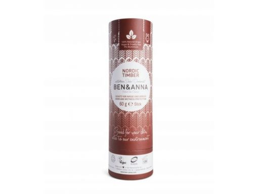 Ben&anna naturalny dezodorant nordic timber 60