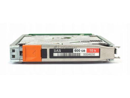 Emc 600gb 10k 6g sas 2.5 lff hot-swap 005049|250