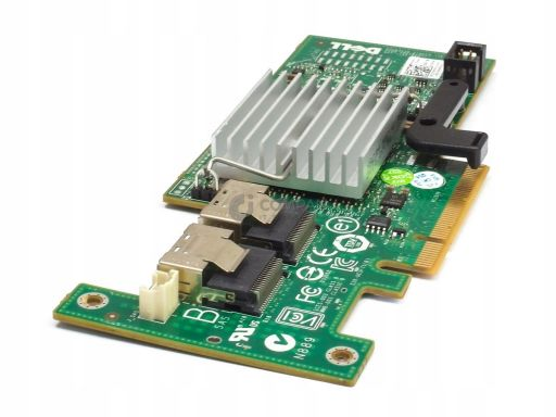 Dell perc h200 sas 6gb raid controller 3j8fw
