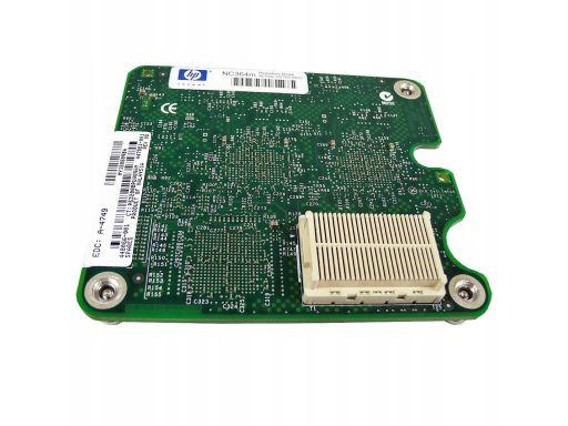 Hp nc364m quad port 1gb mezzanine card 448066- 001