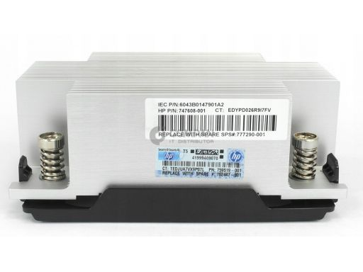 Hp heatsink for dl380 g9   777290-001   747608- 001