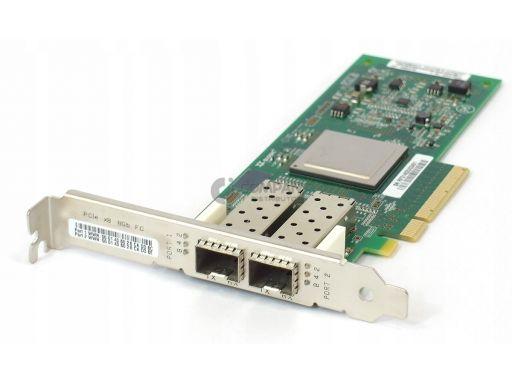 Hp qlogic qle2562 8gb dual port fc 489191- 001