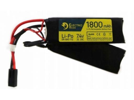 Akumulator lipo 7.4v 1800 mah 20/40c - 2-modułowy