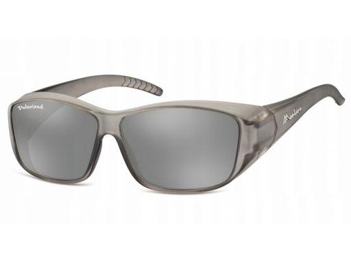 Okulary nakładane na korekcyjne polaryzacja flex