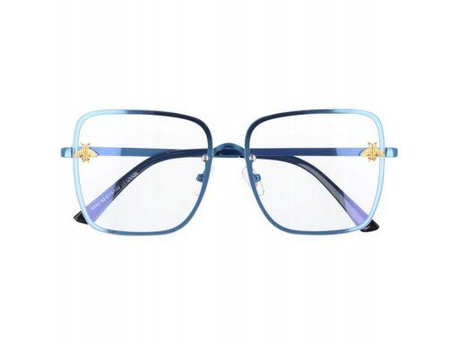 Okulary z filtrem niebieskim do ekranów lcd damski