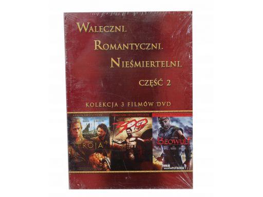 Filmy troja , 300 , beowulf dvd pakiet waleczny 2