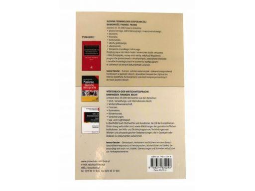 Polsko-niemiecki słownik terminologii gospodarczej