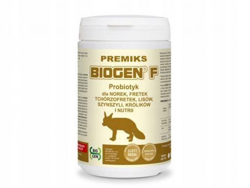 Biogen f 1kg probiotyk dla zwierząt futerkowych