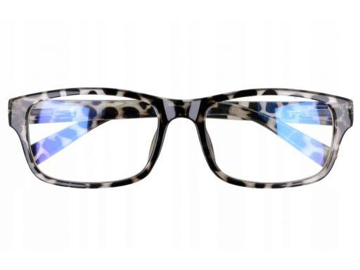 Okulary z antyrefleksem zerówki a'la nerdy uniseks
