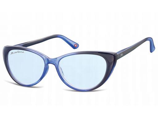 Okulary przeciwsłoneczne kocie oczy damskie flex