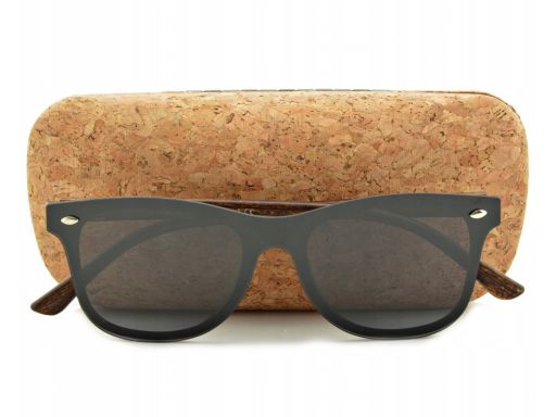 Okulary przeciwsłoneczne nerd polaryzacyjne pełne