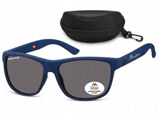 Nerdy okulary uv 400 polaryzacyjne unisex montan