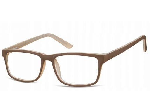 Zerówki okulary oprawki damskie męskie kremowe