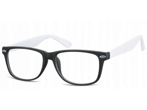 Zerówki okulary oprawki damskie męskie nerdy nerd