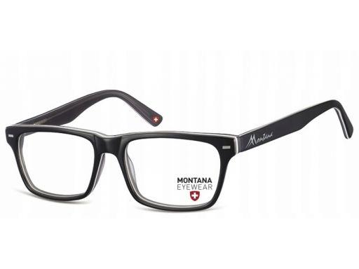 Okulary oprawki zerówki damskie męskie nerdy szare