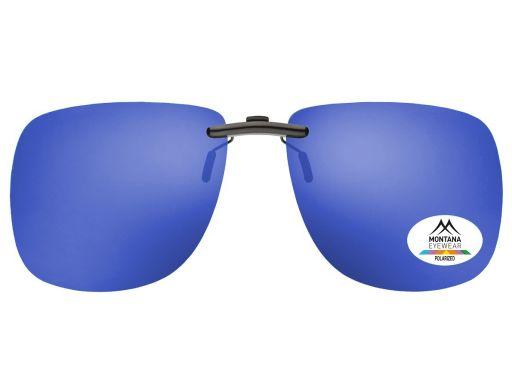 Nakładki polaryzacyjne na okulary nerdy lustrzane