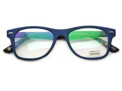 Plusy antyrefleks okulary do komputera korekcyjne