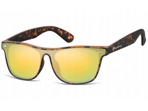 Nerdy okulary pełne lustrzanki przeciwsłoneczne