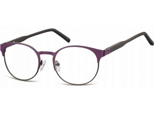 Okrągłe okulary oprawki korekcyjne męskie damskie