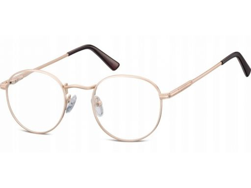 Okulary oprawki damskie męskie lenonki złote optyk