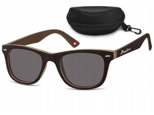 Nerdy uv 400 okulary unisex przeciwsłoneczne mat