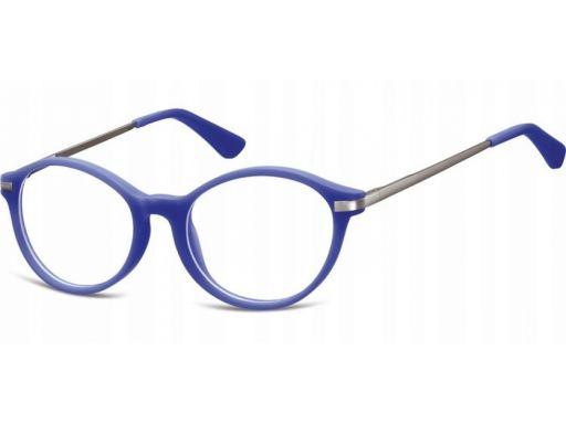 Okulary lenonki dziecięce zerówki matowe