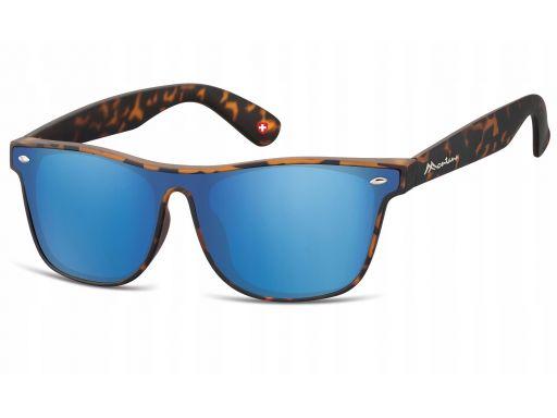 Nerdy okulary lustrzanki unisex montana matowe
