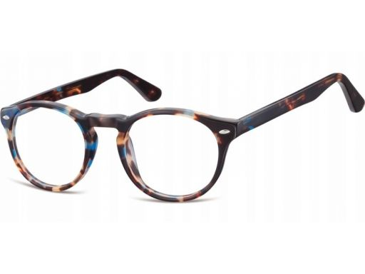 Okrągłe korekcyjne okulary oprawki damskie męskie