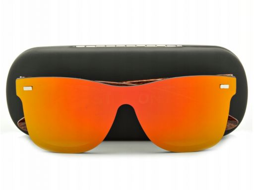 Okulary pełne nerd lustra przeciwsłoneczne