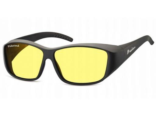 Żółte okulary kierowców hd jazda nocy polaryzacja