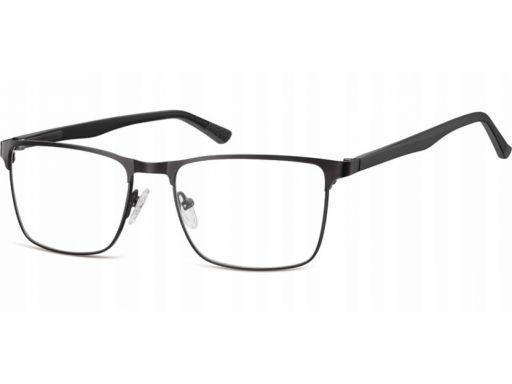 Oprawki okulary stalowe unisex korekcyjne zerówki