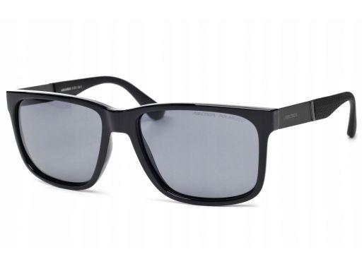 Okulary arctica s-323 polaryzacyjne nerdy czarne