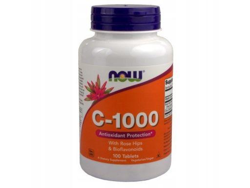 Now foods witamina c1000 róża z bioflawonoidy100t
