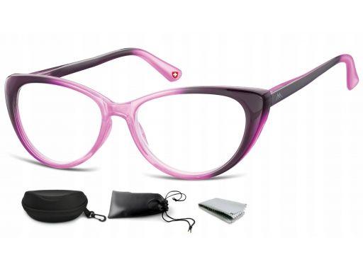 Plusy okulary do czytania i komputera kocie flex