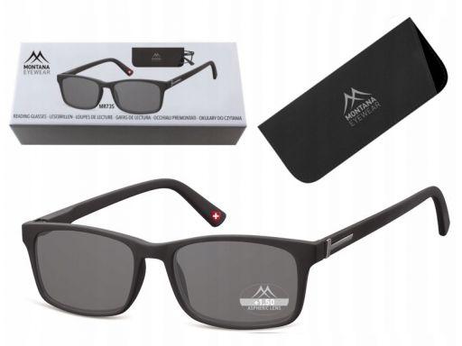 Przyciemniane okulary do czytania korekcyjne plusy