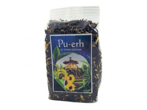 Asz herbata pu-erh kwiat słonecznika 100g