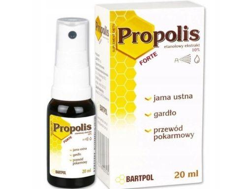 Bartpol propolis forte ekstrakt 10% 45 ml