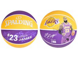Spalding nba lebron james 7 piłka do koszykówki
